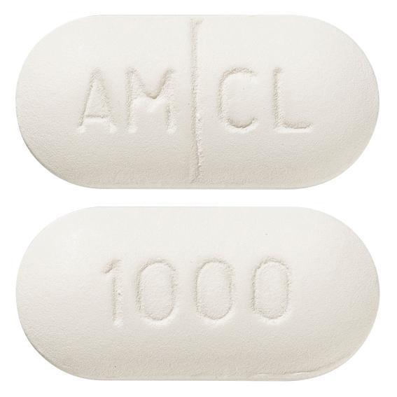 view of Clavam 875 mg/125 mg