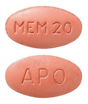 view of Memantine (Apo)