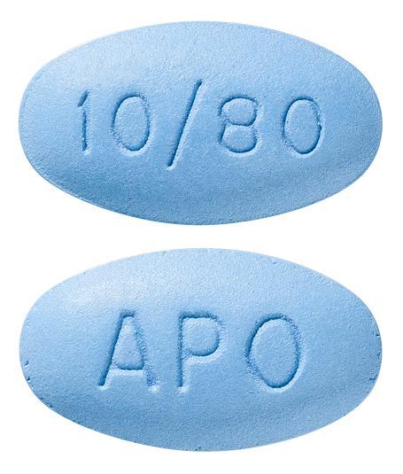 view of Amlodipine/Atorvastatin 10/80 (Apo)