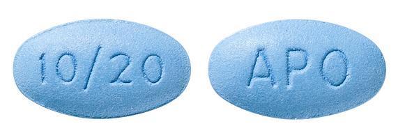 view of Amlodipine/Atorvastatin 10/20 (Apo)