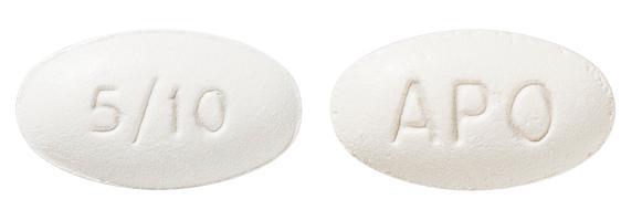 view of Amlodipine/Atorvastatin 5/10 (Apo)