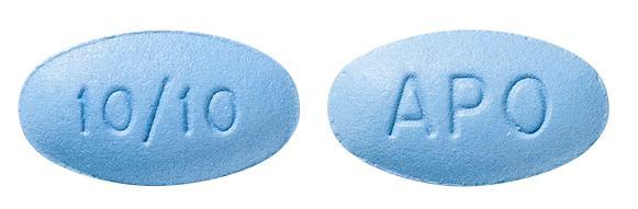 view of Amlodipine/Atorvastatin 10/10 (Apo)