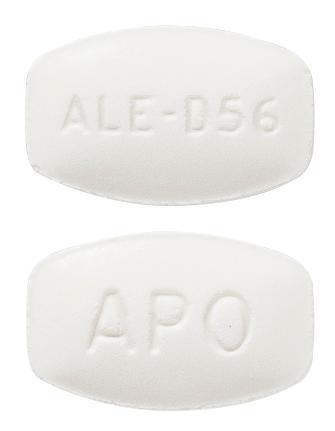 view of Alendronate Plus D3 70 mg/140 microgram (Apo)
