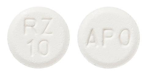 view of Rizatriptan (Apo)