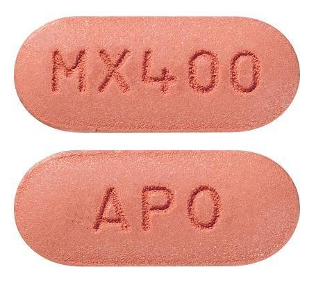 view of Moxifloxacin (Apotex)