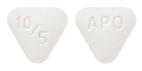 view of Perindopril Arginine/Amlodipine 10/5 (Apo)