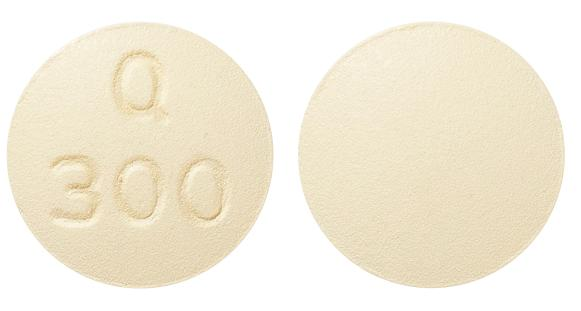 view of Quetiapine XR (Apo)