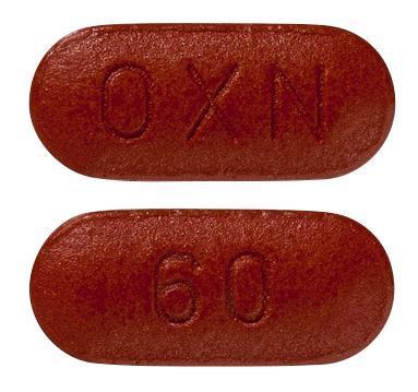 view of Targin 60/30 mg