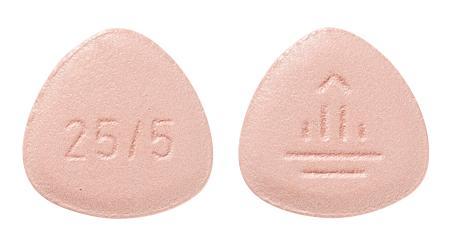 view of Glyxambi 25 mg/5 mg