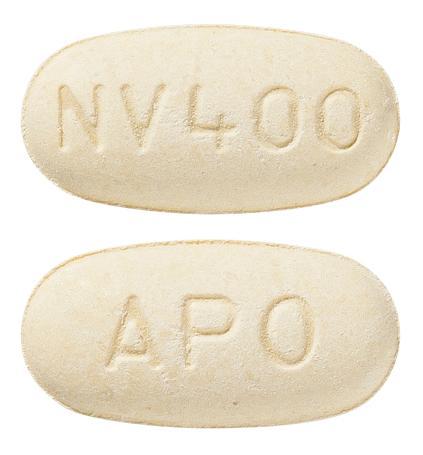 view of Nevirapine XR (Apotex)