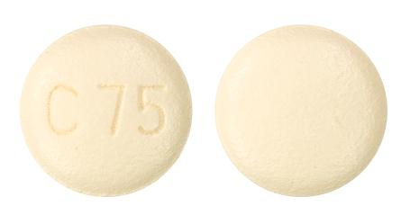 view of Olmesartan/Amlodipine 40/5 (Myl)