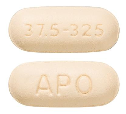 view of Tramadol/Paracetamol 37.5/325 (Apo)