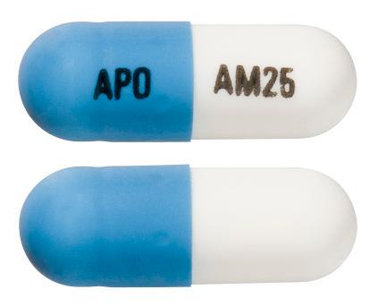 view of Atomoxetine (Apo)