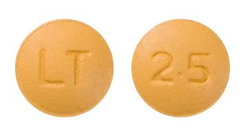 view of Letrozole (Apotex)