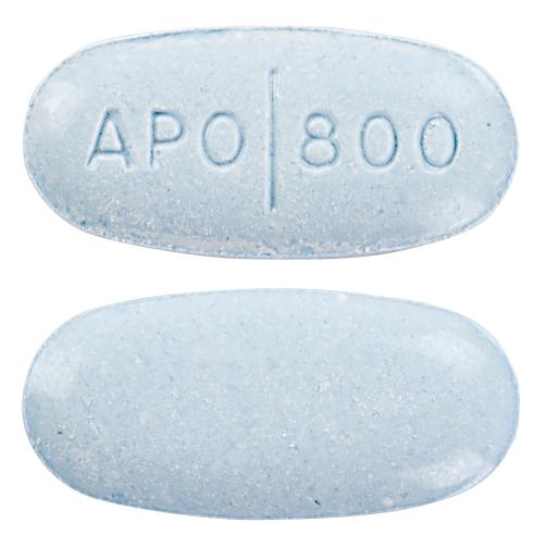 view of Aciclovir (GenRx)