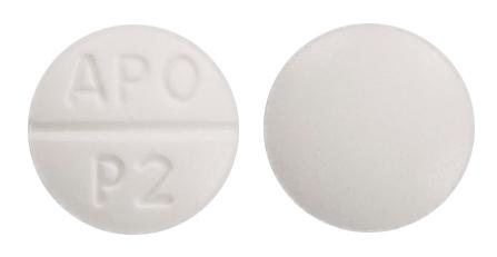 view of Prazosin (GenRx)