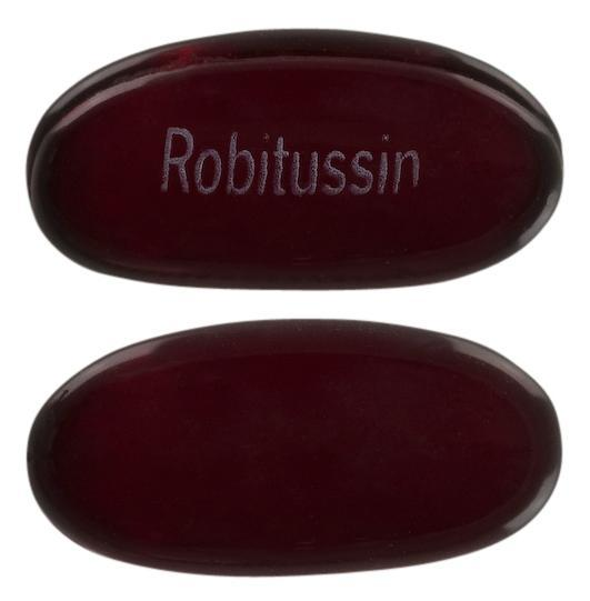 view of Robitussin Chesty Cough