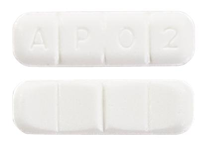 view of Alprazolam (GenRx)