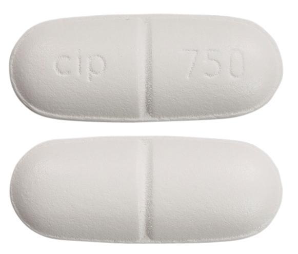 view of Ciprofloxacin (Sandoz)