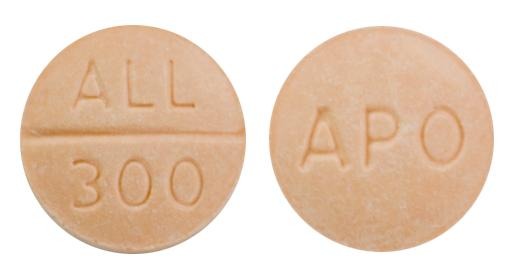 view of Allopurinol (GenRx)